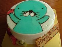 ぼのぼのショートケーキ 001